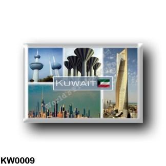 KW0009 Asia - Kuwait - Tower - Water Tower - Skyline City - Al Hamra Tower