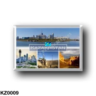 KZ0009 Asia - Kazakhstan - Astana - Central downtown - Bayterek - Baikonur - Charyn Canyon in northern Tian Shan