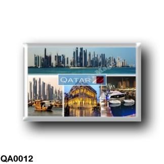 QA0012 Asia - Qatar - Skyline Doha -The Pearl - Souq Waqif - Doha -