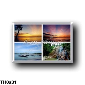 TH0a31 Asia - Thailand - Koh Samui Thailand - Lipa Noi Beach - Sunrise - Ko Samui - Bo Phut Beach - Namuang Waterfall