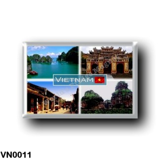 VN0011 Asia - Vietnam - Unesco - Halong Bay - Hue Citadel - Hoi Old Town - My Son Temple Complex
