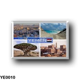 YE0010 Asia - Yemen - Sana'a Panorama - Qlinsia - Dracaena Cinnabari at Socotra Island - Sana'a