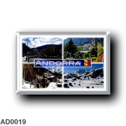 AD0019 Europe - Andorra - mountains - la Vella - El Serrat - Sant Esteve