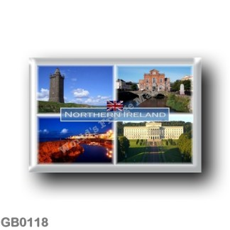 GB0118 Europe - Northern Ireland - Scrabo Tower County Down - Newry - Bangor - Parliament Buildings at Stormont - Belfast - seat