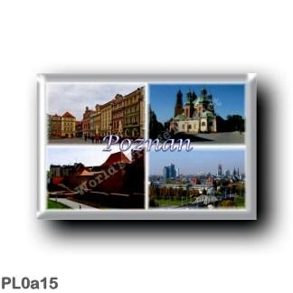 PL0a15 Europe - Poland - Poznan - Polska - Cathedral - Muziekinstrumentenmuseum - Panorama