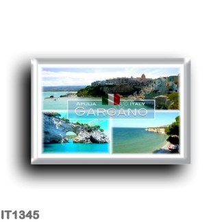 IT1345 Europe - Italy - Puglia - Gargano - Vieste - Beach Varcaro - The Architello of Vieste