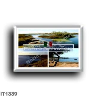 IT1339 Europe - Italy - Puglia - Porto Selvaggio - Bay - Regional Natural Park - Captain's Marsh - Salento - Lecce