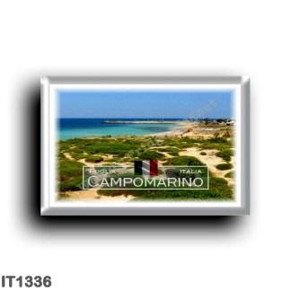 IT1336 Europe - Italy - Puglia - Campomarino di Maruggio - Panorama - Taranto