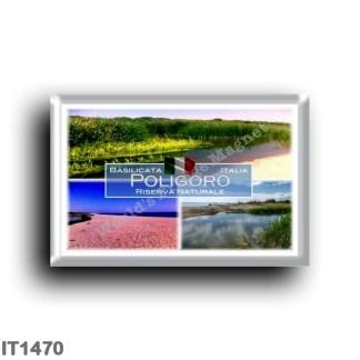 IT1470 Europe - Italy - Basilicata - Pantano di Poligoro - Nature Reserve - Bosco di Poligoro - WWF Oasis - Beach
