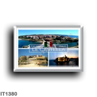 IT1380 Europa - Italy - Calabria - Le Castella - Aragonese Castle - Panorama - Crotone