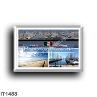 IT1483 Europe - Italy - Emilia Romagna - Marina di Ravenna - Porto - Beach - Panorama