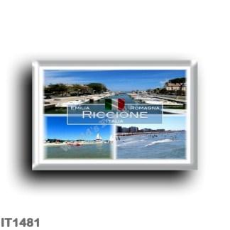 IT1481 Europe - Italy - Emilia Romagna - Riccione - Harbour - Beach - Sea