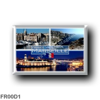FR00D1 Europe - France - Marseille - Old Port - Bay of Morgiou - Town Hall