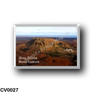 CV0027 Africa - Cape Verde - Boa Vista - Monte Estância