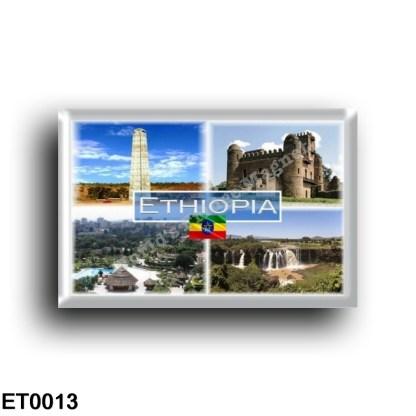 ET0013 Africa - Ethiopia - Aksum Obelisk - Fasilides Castle - Addis Ababa - Blue Nile Falls