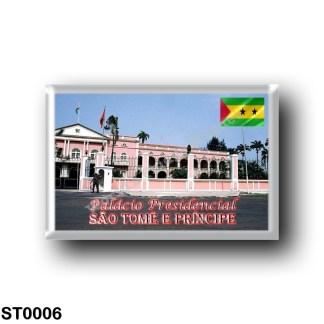 ST0006 Africa - São Tomé and Príncipe - O Palácio Presidencial