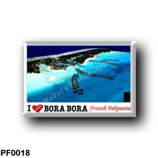 PF0018 Oceania - French Polynesia - Bora Bora - I Love