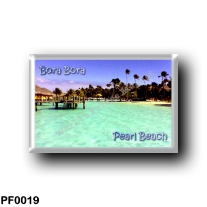 PF0019 Oceania - French Polynesia - Bora Bora - Pearl Beach