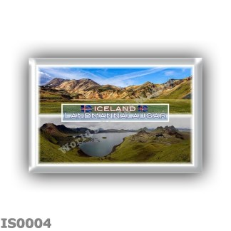 IS0004 Europe - Iceland - Landmannalaugar - panorama