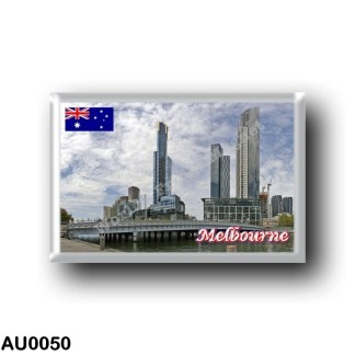 AU0050 Oceania - Australia - Melbourne - Queens Bridge