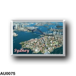 AU0075 Oceania - Australia - Sydney - Harbour Bridge from the air