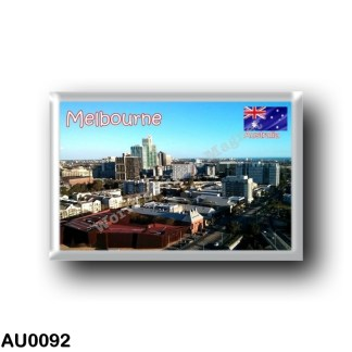 AU0092 Oceania - Australia - Melbourne - Panorama