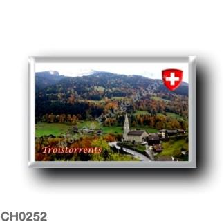 CH0252 Europe - Switzerland - Canton Vallese - Troistorrents