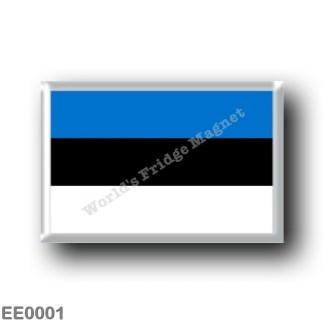 EE0001 Europe - Estonia - Flag