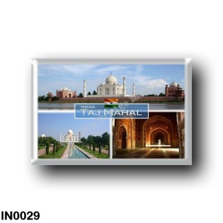 IN0029 Asia - India - The Taj Mahal India - Yamuna River - Archways in the Mosque - Taj Marhal Entrance