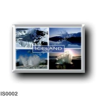 IS0002 Europe - Iceland - Jokulsarlon - Gullfoss - Geyser - Blue Lagoon