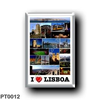 PT0012 Europe - Portugal - Lisbon - I Love
