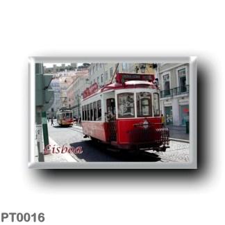 PT0016 Europe - Portugal - Lisbon - Tram