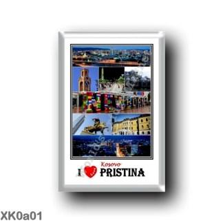 XK0a01 Europe - Kosovo - Rugova Gorge Bridge Rugova Canyon - Sinan Pasha Mosque - Prizren - Panorama of Pristina - Albanian trad
