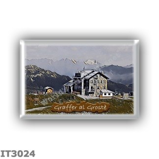 IT3024 Europe - Italy - Dolomites - Group Brenta - alpine hut Graffer al Groste - locality Groste - seats 70 - altitude meters 2