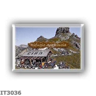 IT3036 Europe - Italy - Dolomites - Group Catinaccio - alpine hut Baita Marino Pederiva - locality Sella del Ciampaz - seats 8 -