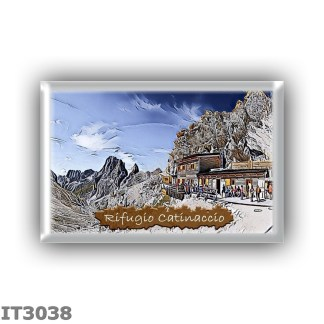 IT3038 Europe - Italy - Dolomites - Group Catinaccio - alpine hut Catinaccio - locality Gardeccia - seats 30 - altitude meters 1