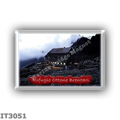 IT3051 Europe - Italy - Dolomites - Group Cima d Asta - alpine hut Ottone Brentari - locality Lago di Cima d Asta - seats 56 - a