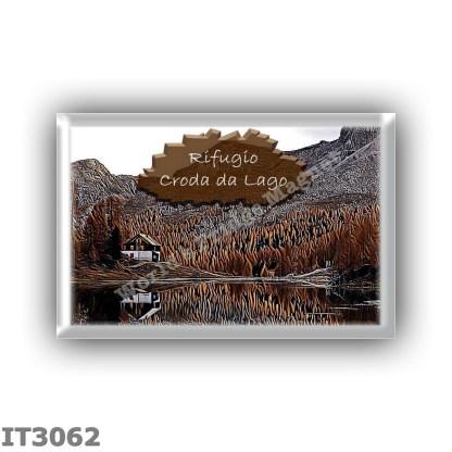 IT3062 Europe - Italy - Dolomites - Group Croda da Lago - alpine hut Gianni Palmieri - locality Lago Federa - seats 0 - altitude