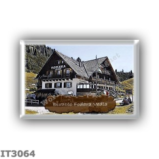 IT3064 Europe - Italy - Dolomites - Group Croda Rossa - alpine hut Bivacco Fodara Vedla - locality Alpe di Fodera Vedla - seats