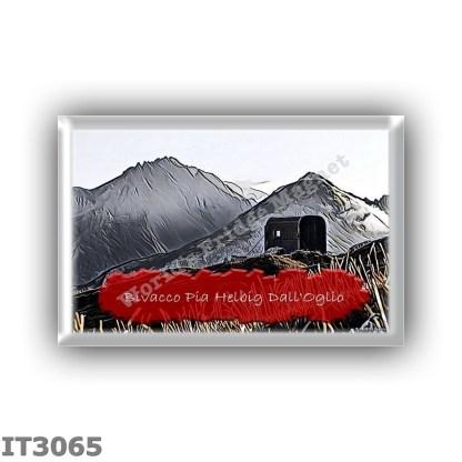 IT3065 Europe - Italy - Dolomites - Group Croda Rossa - alpine hut Pia Helbig Dall Oglio - locality Alta Val Montesela - seats 0