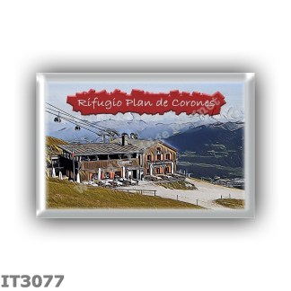 IT3077 Europe - Italy - Dolomites - Group Dolomiti di Sesto - alpine hut Plan de Corones - locality Plan de Corones - seats 22 -