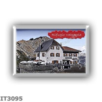 IT3095 Europe - Italy - Dolomites - Group Fanes-Braies - alpine hut Valparola - locality Passo di Valparola - seats 36 - altitud