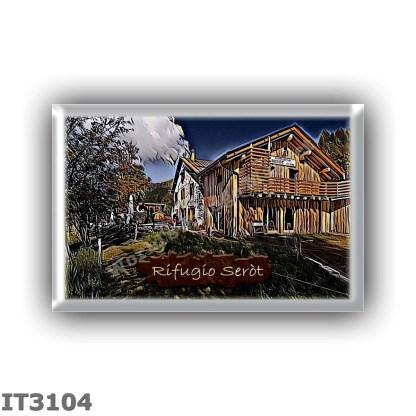 IT3104 Europe - Italy - Dolomites - Group Lagorai - alpine hut Serot - locality Pozze dei Lagorai - seats 20 - altitude meters 1