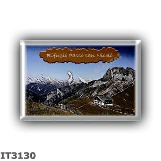 IT3130 Europe - Italy - Dolomites - Group Marmolada - alpine hut Passo san Nicolo - locality Passo san Nicolo - seats 14 - altit