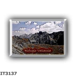 IT3137 Europe - Italy - Dolomites - Group Monzoni - alpine hut Vallaccia - locality Val Vallaccia - seats 16 - altitude meters 2