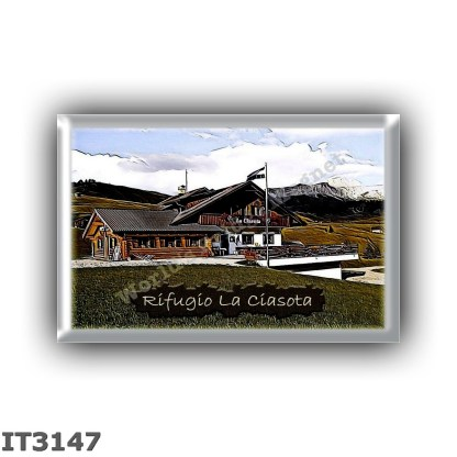 IT3147 Europe - Italy - Dolomites - Group Odle-Puez - alpine hut La Ciasota - locality Colfosco - seats 0 - altitude meters 1822