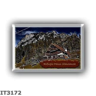 IT3172 Europe - Italy - Dolomites - Group Pelmo - alpine hut Passo Staulanza - locality Passo Staulanza - seats 25 - altitude me