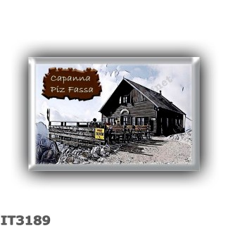 IT3189 Europe - Italy - Dolomites - Group Sella - alpine hut Capanna Piz Fassa - locality Piz Boe - seats 20 - altitude meters 3