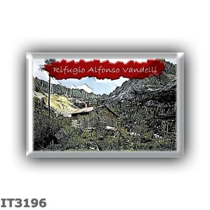 IT3196 Europe - Italy - Dolomites - Group Sorapiss - alpine hut Alfonso Vandelli - locality Lago di Sorapiss - seats 40 - altitu