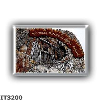 IT3200 Europe - Italy - Dolomites - Group Tofane - alpine hut Baracca degli Alpini - locality Tofana de Inze - seats 7 - altitud